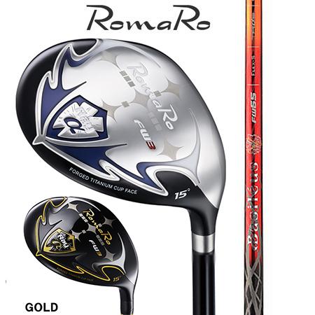 RomaRo ロマロ Ray α FW #3・5・7・9/バシレウス レジーロ2  FW45・55・65・75