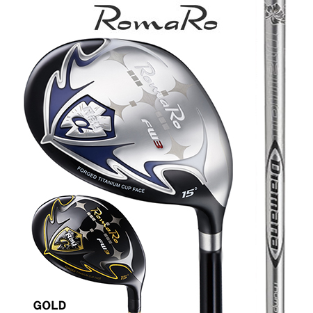 RomaRo ロマロ Ray α FW #3・5・7・9/デイアマナThump FW 55・65・75・85