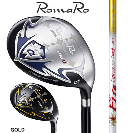 RomaRo ロマロ Ray α FW #3・5・7・9/ファイヤーエクスプレスType-D 55・65・75