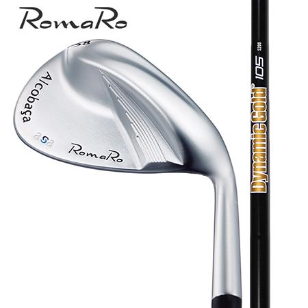 RomaRo ロマロ アルコバッサasa ウエッジ/ダイナミックゴールド105 オニキスブラック