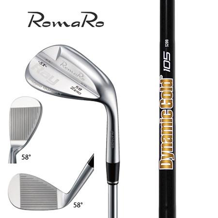 RomaRo ロマロ Ray SX-ZERO ウエッジ/ダイナミックゴールド105 オニキスブラック