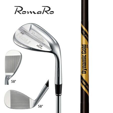 RomaRo ロマロ Ray SX-ZERO ウエッジ/ダイナミックゴールド・ツアーイシュー オニキスブラック