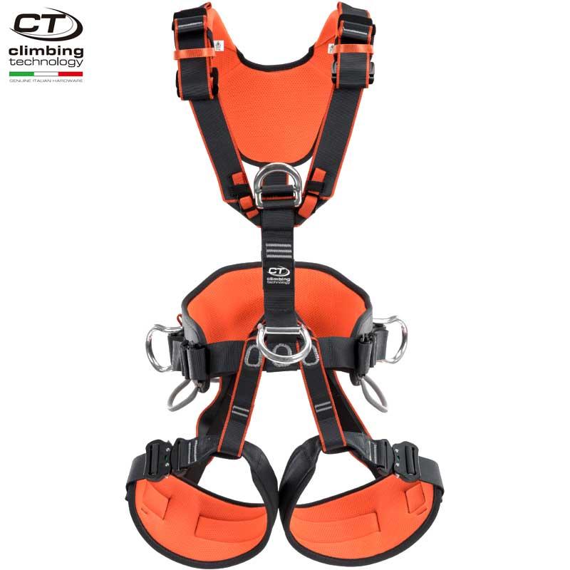 クライミングテクノロジー(climbing technology)(イタリア) フルボディ ハーネス 「アクセスQR」 AXESS QR ワークポジショニング & フォールアレスト兼用