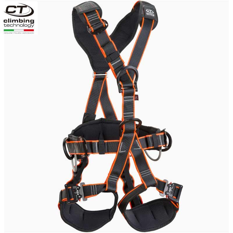 クライミングテクノロジー(climbing technology)(イタリア) フルボディ ハーネス 「パイルテック-2 QR クイックリリースバックル仕様」 PYL TEC-2 QR ワークポジショニング & フォールアレスト兼用