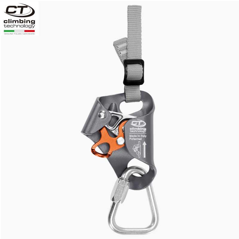 クライミングテクノロジー(climbing technology)(イタリア) チェストアッセンダー 「アッセンダーキットプラス」 ASCENDER KIT コンプリートハーネス用チェストアッセンダーキット