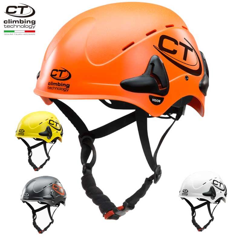クライミングテクノロジー(climbing technology)(イタリア) 産業用ヘルメット 「ワークシェル」 WORK-SHELL 【6X94501】 | アーボリスト 建設 高所作業 イヤーマフ取り付け可能 バイザー取り付け可能