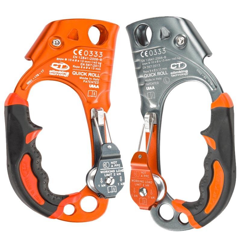 クライミングテクノロジー(climbing technology)(イタリア) ハンドアッセンダー 「クイックロール 右手用」 QUICK ROLL 【2D663DF】   ロープ登高 レスキュー 下降