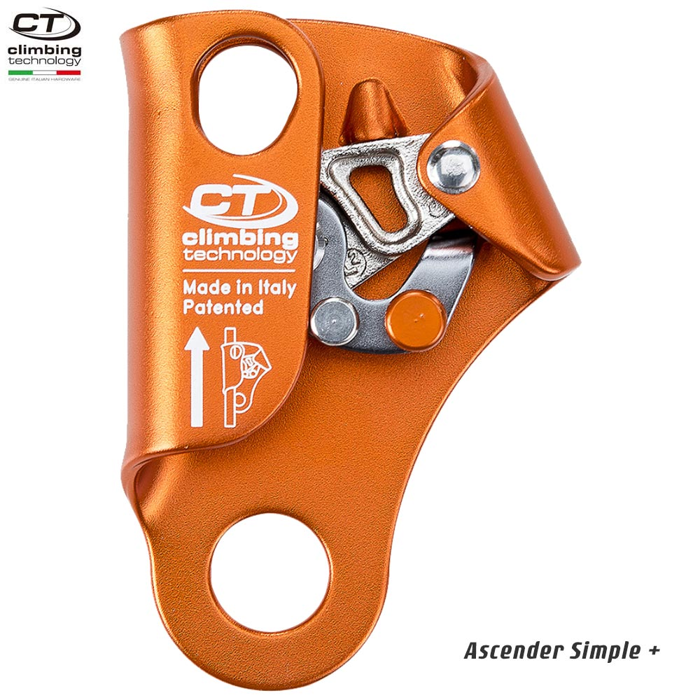 Climbing Technology(クライミングテクノロジー) ロープクランプ アッセンダーシンプル プラス (Ascender Simple +) 【2D642DJ】