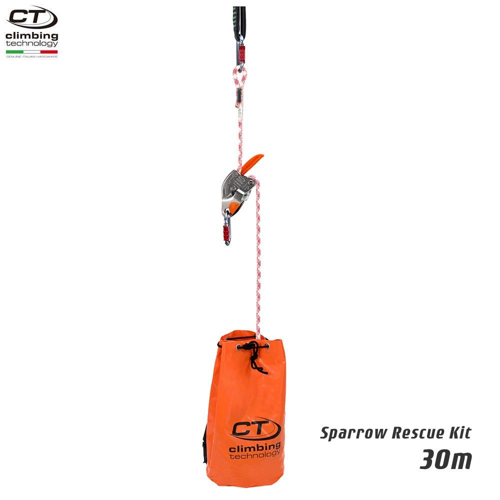 Climbing Technology(クライミングテクノロジー) レスキュートライポッド スパロー レスキューキット (Sparrow Rescue Kit) 30m 【2K646030】