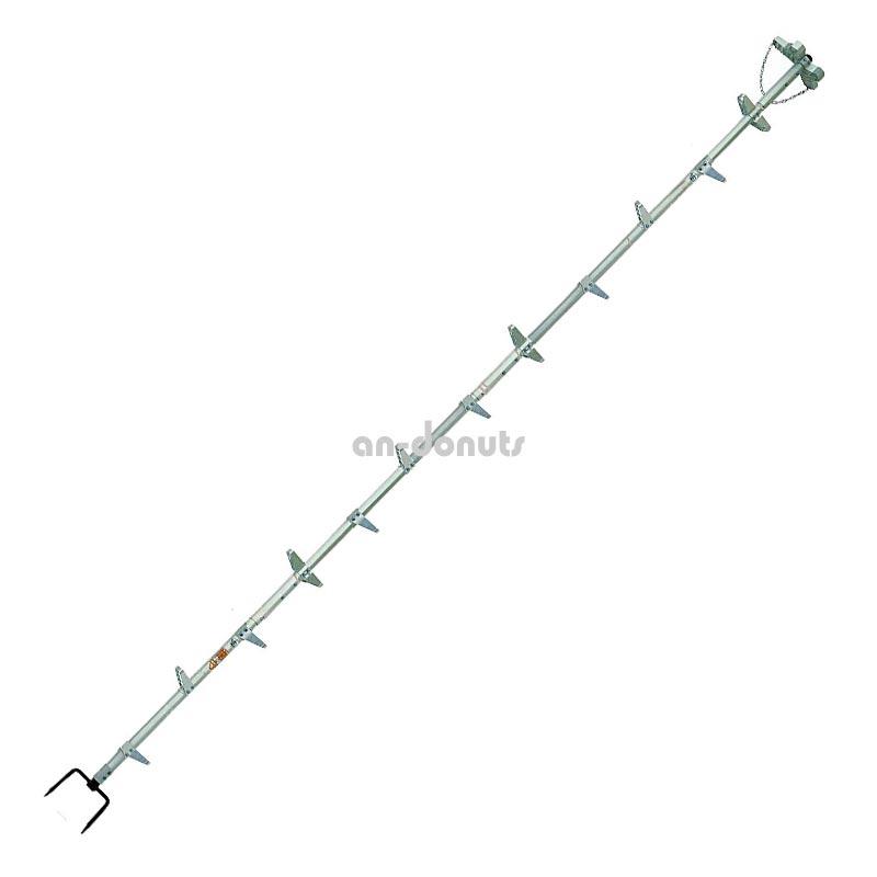 巴化成工業 【4.1m】ロッキーラダー2 / S-410 (1本ハシゴ) / 木登りハシゴ【YDKG-tk】