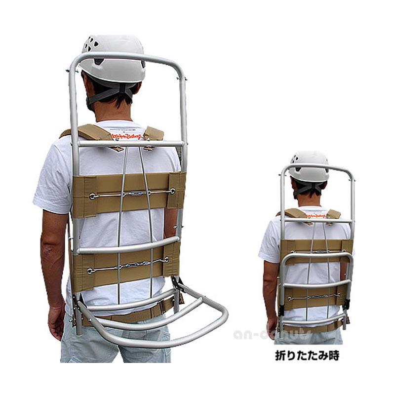 アルミ製 背負子(しょいっこ)/折りたたみ式A型