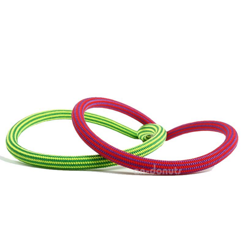 エーデルワイス EDELWEISS ダイナミックロープ(ダブル) リチウム 8.5mm フラッシュグリーン・フラッシュピンク Lithium 8.5mm×60m 【EW0041】