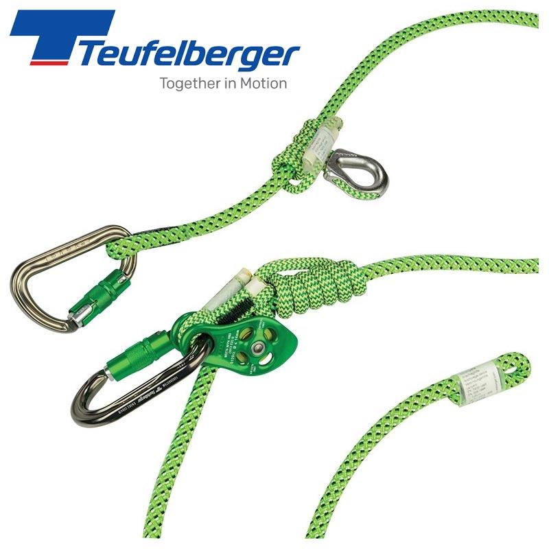 Teufelberger トイフェルベルガー CEランヤード 「ヒップスターフレックス 11.5mm×10m」 hipSTAR Flex【TB0063】 | ツリーケア ヒッチクライマー 樹木