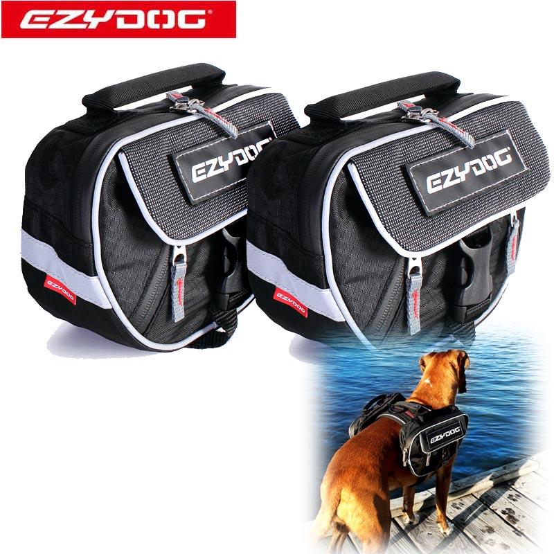 激安通販 新発売 コンバートハーネスにワンタッチで取り付け可能なバックパック オーストラリア EZYDOG社 イージードッグ Sサイズ 犬用 ドッグ サドルバッグ