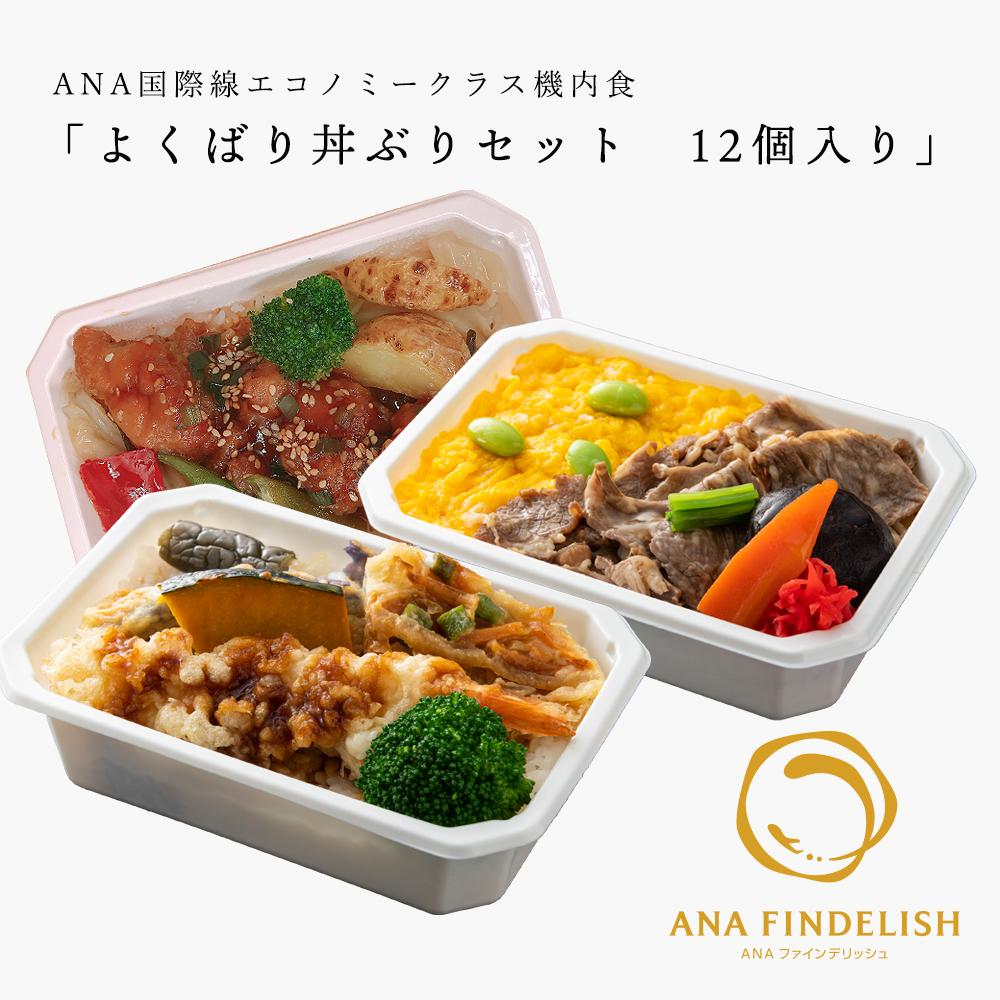 【 ANA's SKY Kitchen 】おうちで旅気分!!ANA国際線エコノミークラス機内食 メインディッシュ よくばり丼ぶりセッ…
