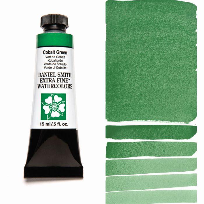 DANIEL SMITH ☆正規品新品未使用品 コバルトグリーン Cobalt Green 水彩絵具 15mlチューブ スミス 期間限定今なら送料無料 ダニエル