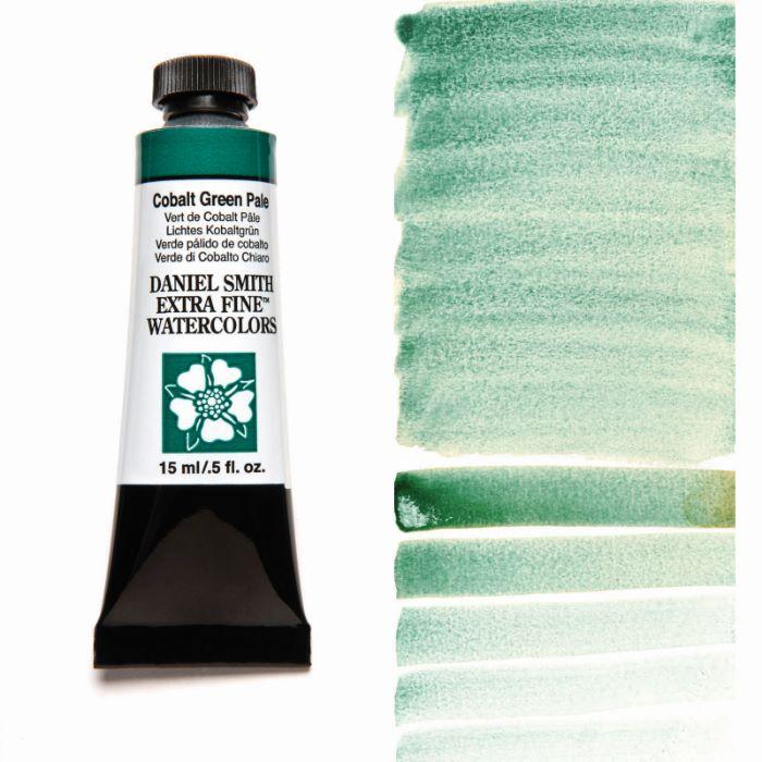 DANIEL SMITH コバルトグリーンペール Cobalt Green 配送員設置送料無料 スミス 水彩絵具 ダニエル 15mlチューブ ストア Pale