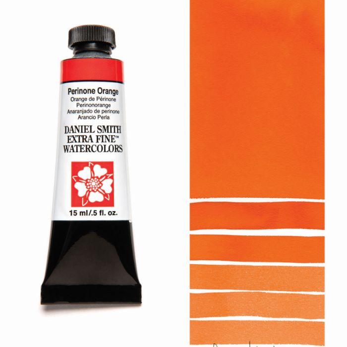 DANIEL SMITH ペリノンオレンジ Perinone Orange 15mlチューブ 水彩絵具 引き出物 現金特価 スミス ダニエル