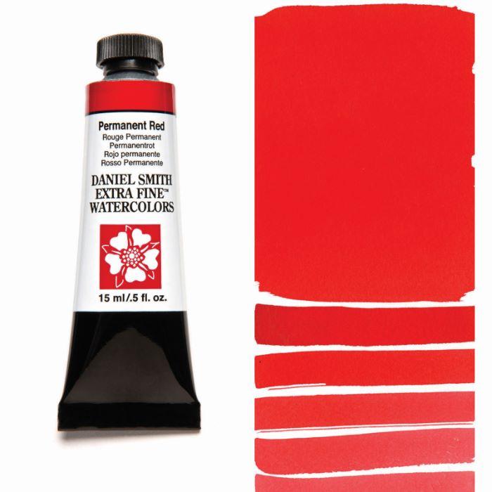発売モデル DANIEL SMITH パーマネントレッド お歳暮 Permanent Red 水彩絵具 15mlチューブ スミス ダニエル