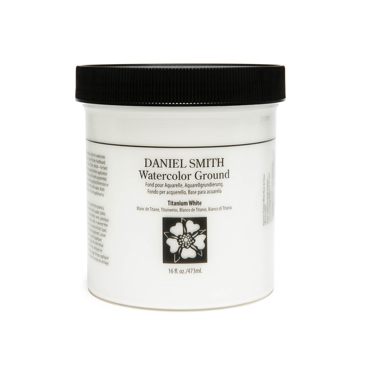 DANIEL SMITH チタニウムホワイト Titanium 毎日激安特売で 営業中です White 格安 価格でご提供いたします 473ml スミス ダニエル グラウンド 水彩絵具