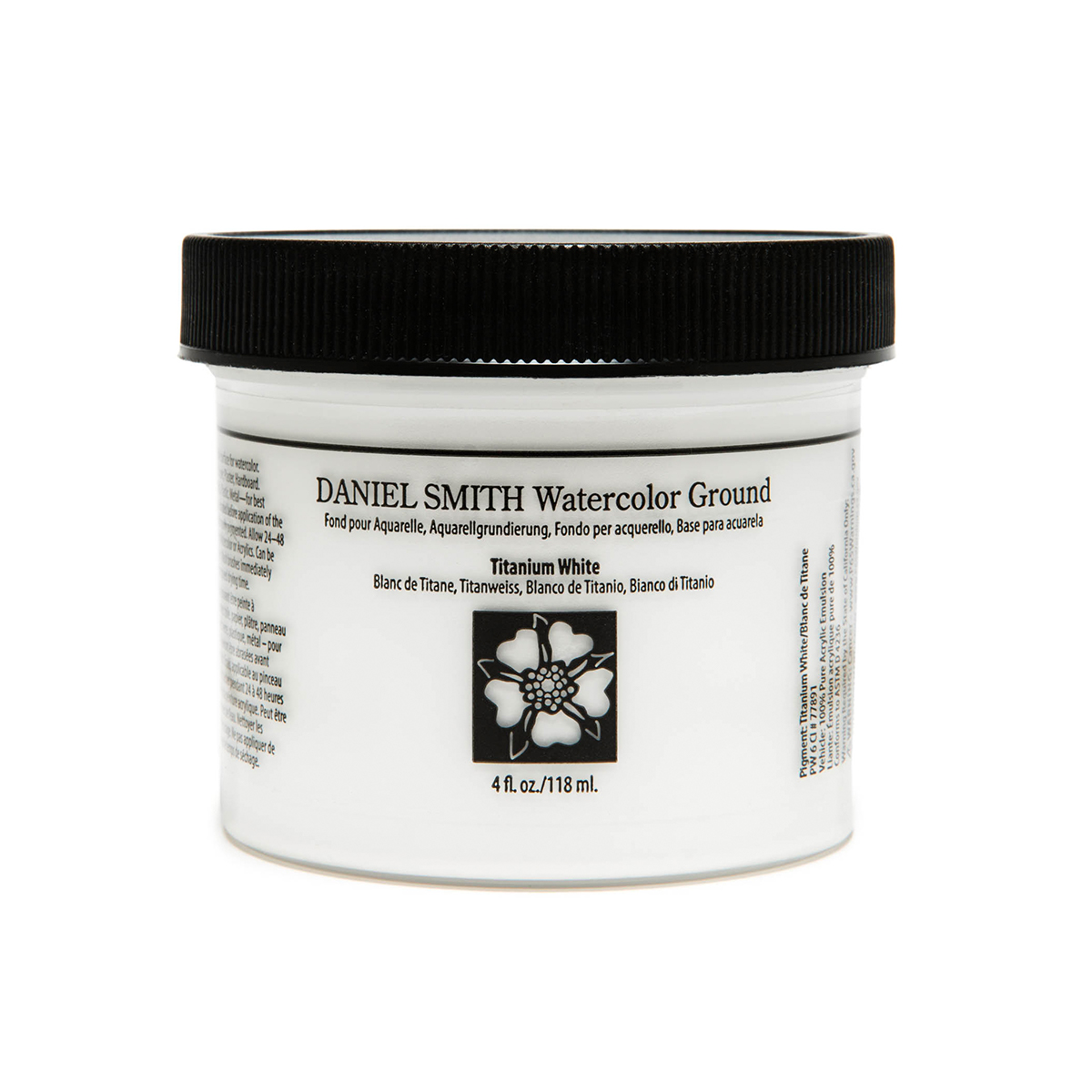 DANIEL SMITH お歳暮 チタニウムホワイト 完売 Titanium White 118ml ダニエル スミス グラウンド