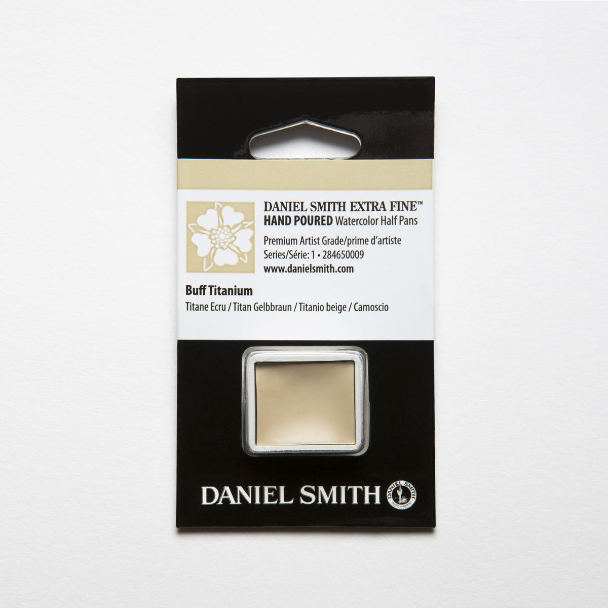 新作 大人気 DANIEL SMITH バフチタニウム Buff Titanium ハーフパン スミス 水彩絵具 着後レビューで 送料無料 ダニエル