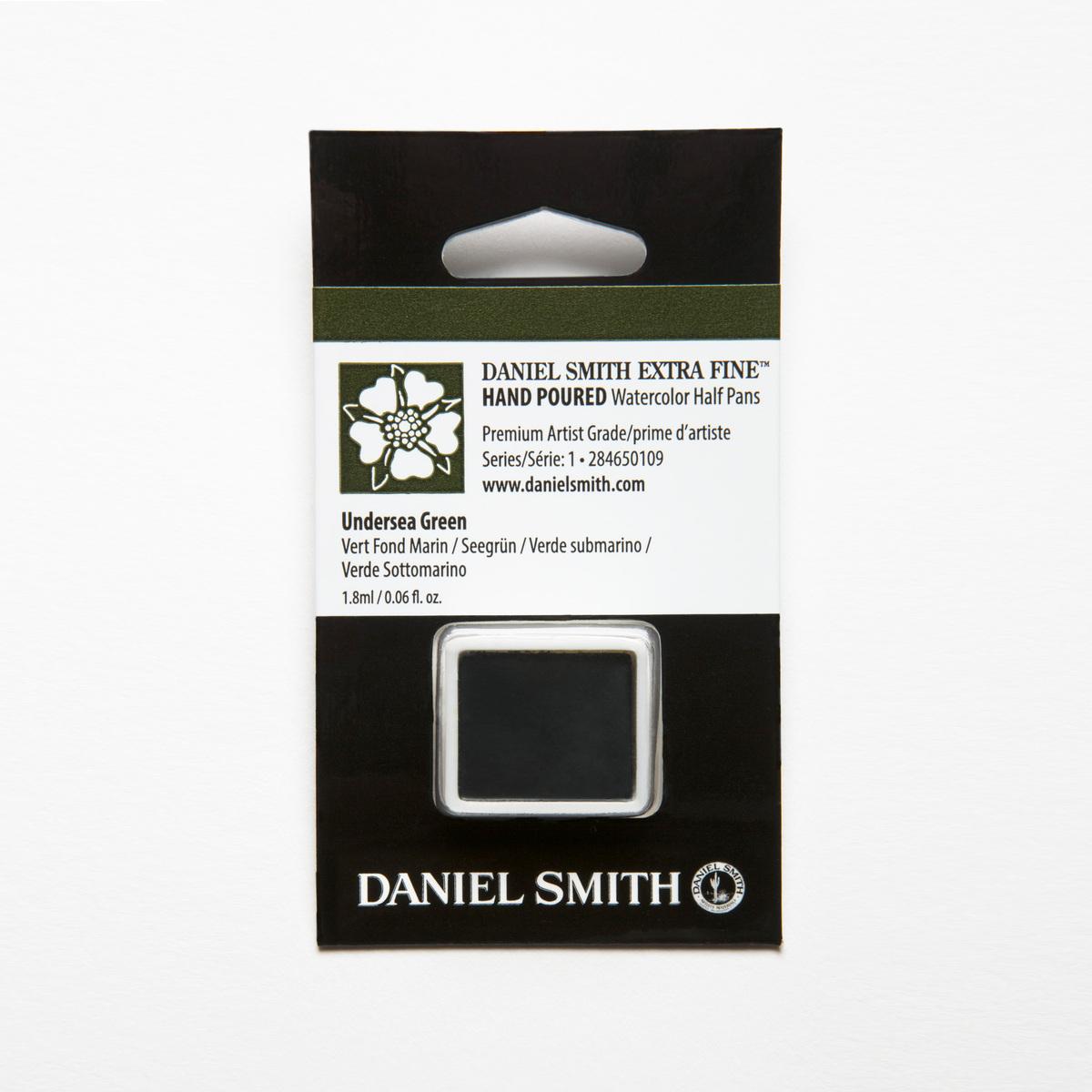 DANIEL SMITH アンダーシーグリーン Undersea Green ダニエル 水彩絵具 百貨店 超目玉 ハーフパン スミス