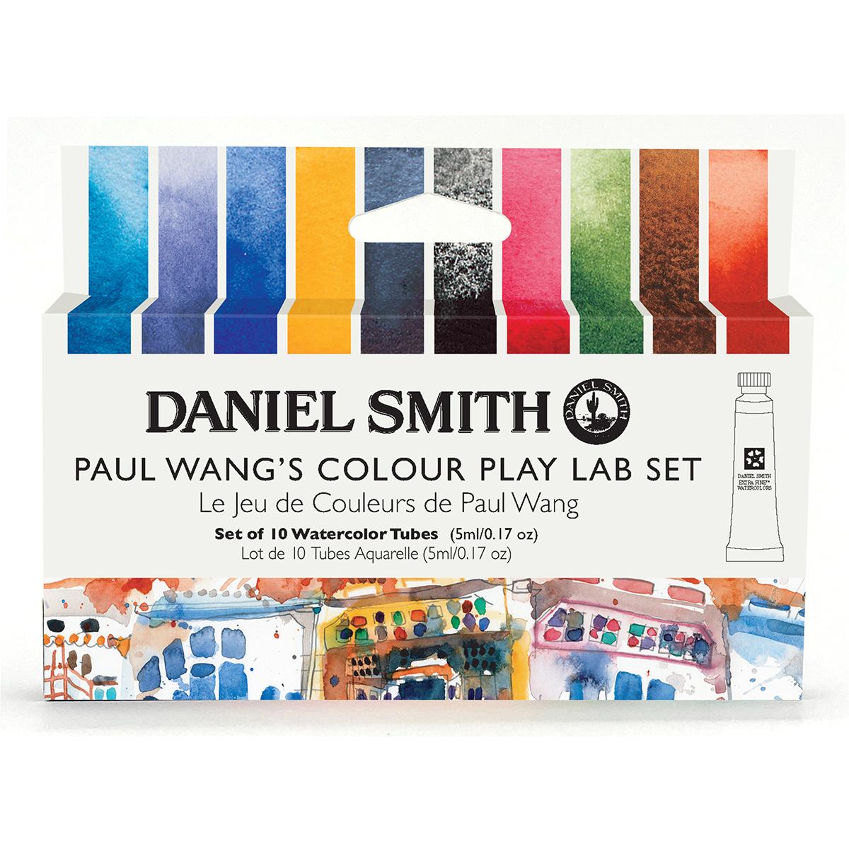 DANIEL SMITH ポール ワンカラープレーラボセット 10色 スミス ダニエル 人気ブランド多数対象 セット 5mlチューブ スピード対応 全国送料無料 水彩絵具