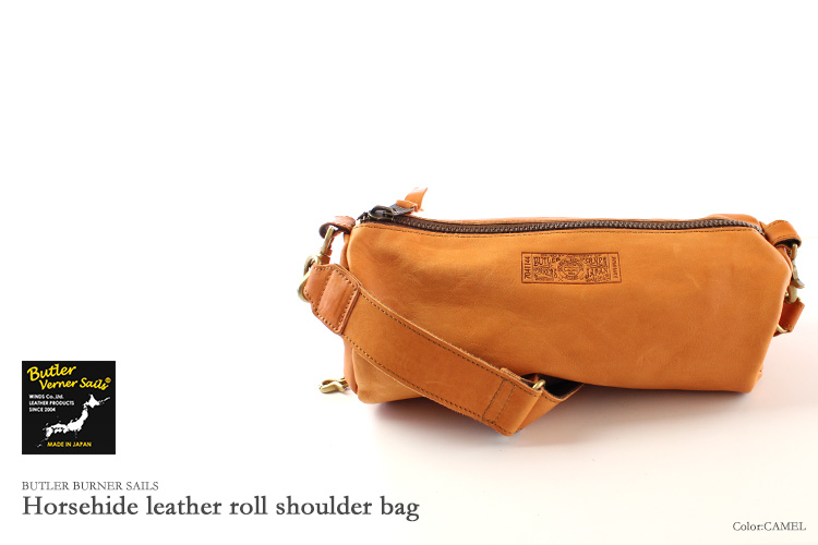Butler Verner Sails 맨 즈 레이디스 말 가죽 드럼 가방 롤 미니 숄더백 バトラーバーナーセイルズ 가방 가방 가방 Yep_100