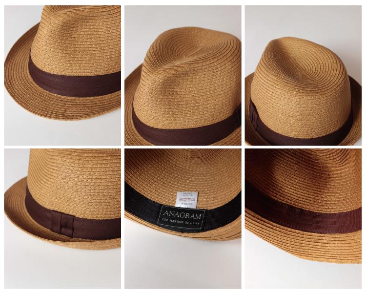 ■ ANAGRAM anagram ペーパーブレード Hat turu Hat straw hat straw hats mens Womens large size Hat XL61cm UV protection 130206 _ free fs3gm