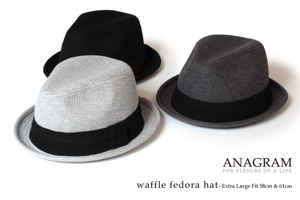 anagram  ♢ ANAGRAM anagram waffle thermal Hat Caps hats large size ... 60e4946a5db