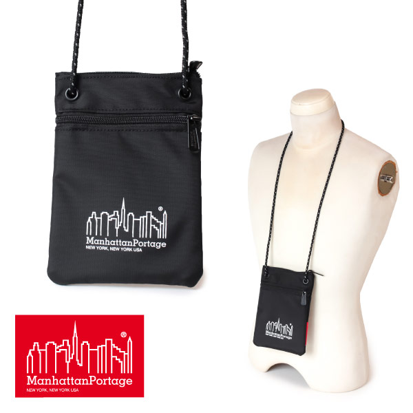 81aa3df2e1c ★ マンハッタンポーテージ Manhattan Portage mini-porch length type mini-shoulder  accessories porch Reflective Buffalo Pouch MP1097 men gap ...