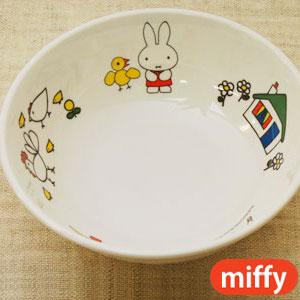 miffy ミッフィー 子供にもびったりサイズ 子供食器 公式通販 こども キッズ食器 ラーメン鉢 メラミン 高級な こども食器 女の子 ギフト 赤ちゃん 男の子