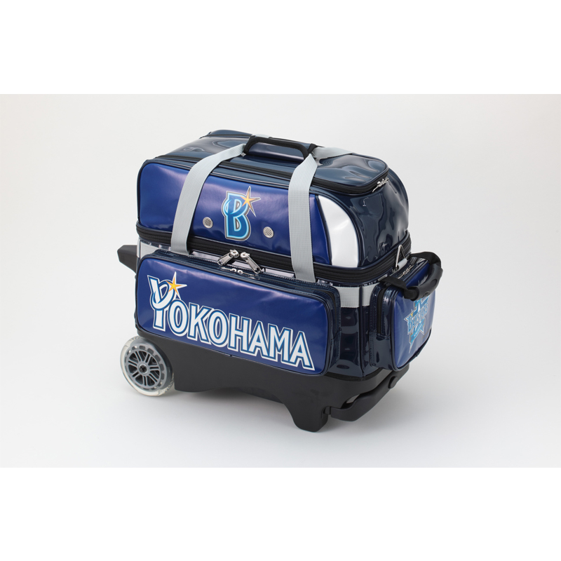 【Brunswick】ダブルローラーバッグ(横浜DeNAベイスターズ)