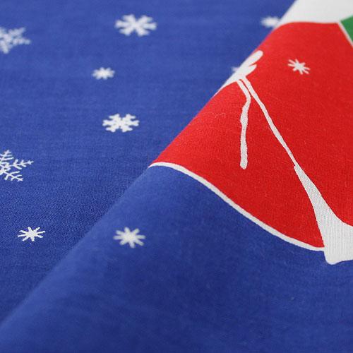手ぬぐい「おまたせ」クリスマス/Xmas/Christmas/サンタクロース/手拭/手拭い/てぬぐい
