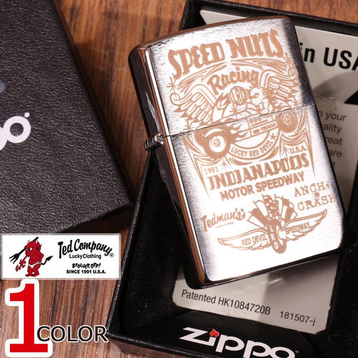 TEDMAN ジッポー ライター TDZ-027 SPEED NUTS エフ商会 テッドマン ZIPPO【0604SS-20】 キャッシュレス ポイント還元
