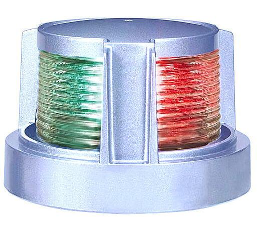 航海灯 両色灯 第2種 小糸製作所 LED MLB-5AB2S シルバー 小型船舶 JCI検査 検定品