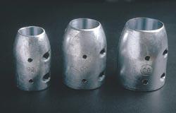 ペラ亜鉛ロング40mmシャフト用は 漁船 動力船等のプロペラシャフト及びプロペラの防触用です 半割り型なので取付は容易です ロングタイプは長持ちタイプ 40mm 送料込 ペラ亜鉛 二つ割型 NIKKO-WL40 タイムセール ジンク シャフト亜鉛 ロング