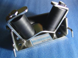 AMA ステンレス 三方 Vローラー D90 アンカーローラー