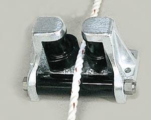 アルミ 三方 ローラー カム付き NIKKO KP-150 プラ アンカー ローラー