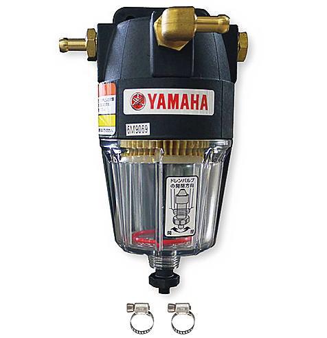ヤマハ 船外機大型燃料フィルター 4サイクル・2サイクル船外機両用・ホース内径8mm用