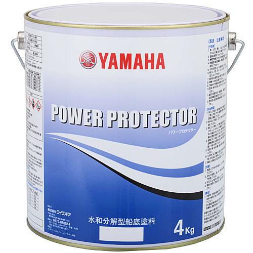 ヤマハ 船底塗料 パワープロテクター ブルーラベル 6kgセット(2kg1+4kg1)黒・紺・青・赤・白