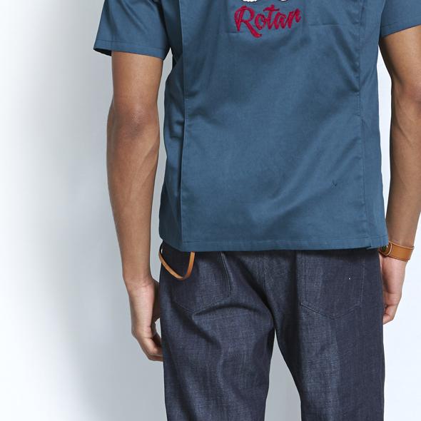ローター ウォレットコード レザーコード 国産 ROTAR (ローター) Buttero Leather Wallet Cord / レザー / ウォレットロープ rt1539004 FREE ブラック