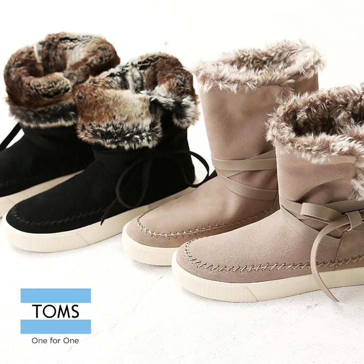 【セール除外商品】TOMS(トムス) VISTAブーツ(2色) 【TAG】【ファー】【レディース】【PL】【スウェード】