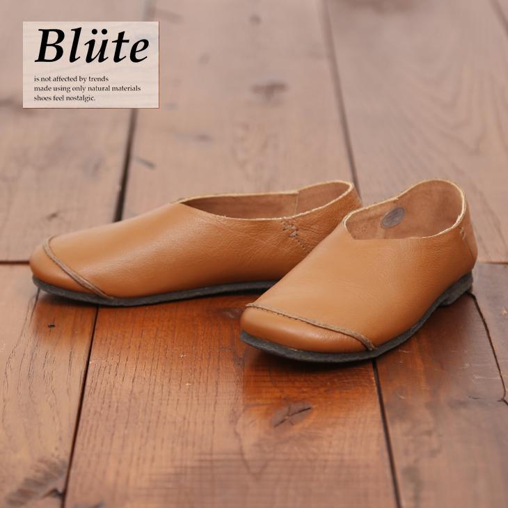 【セール除外商品】Blute(ブリューテ)レザーシューズBT-815(1色)(S/M/L)【レディース】【靴】【本革】