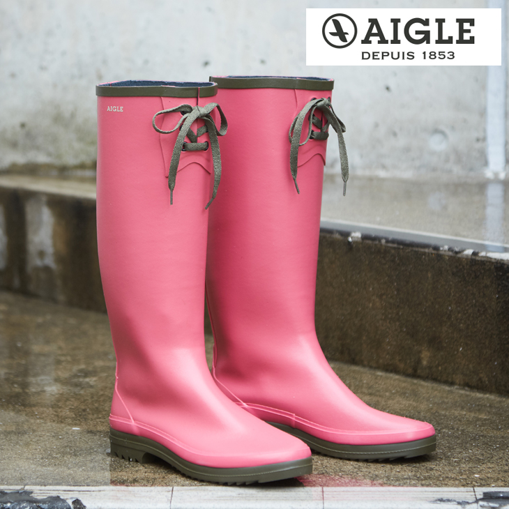 【10%OFF】AIGLE(エーグル) MISS MARION (1色)【レディース】【ピンク】【長靴】【雨具】【ZZF8419】