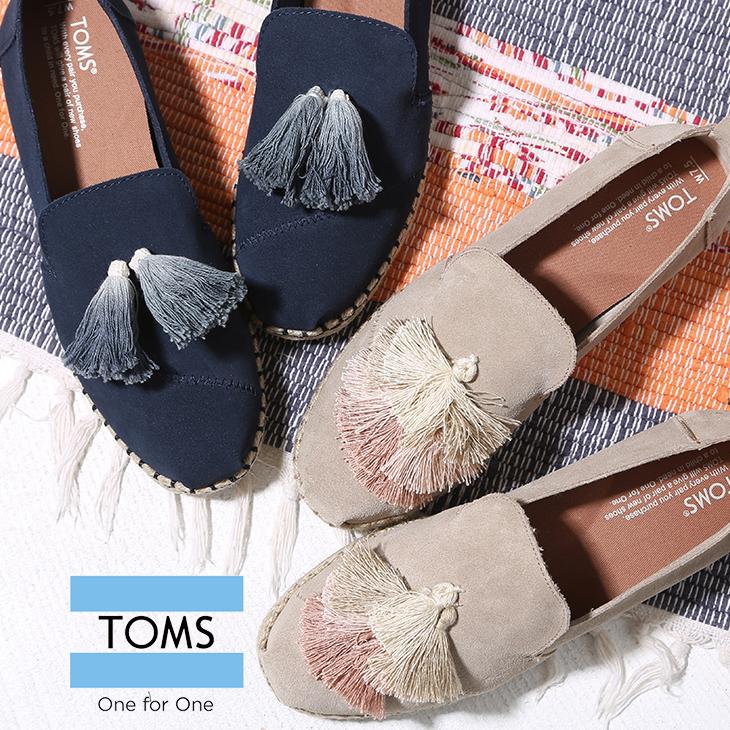 【セール除外商品】 TOMS(トムス) DECONSTRACTED ALPARGATA(2色)【レディース】【靴】 10011719 / 10011721