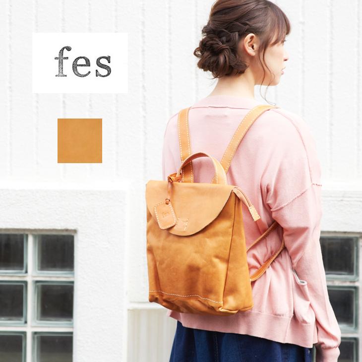 【セール除外商品】fes(フェス) ガーネットバックパック (1色)【レディース】【TAG】【レザー】【本革】【リュック】【鞄】