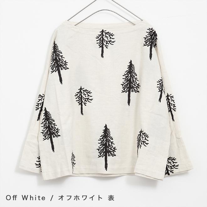 LUEUF (RUF) wood pattern blouse (3 colors)