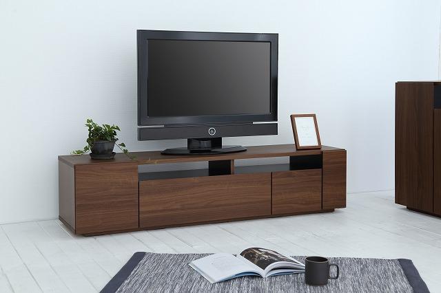 [送料無料]美しい木目調がオシャレ&使い分けできて便利で大容量な収納が嬉しい♪国産TVボード